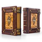 Skyrim leather journal...