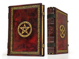 Crimson book of shadows... by alexlibris999