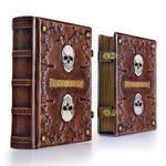 Memento Mori leather journal