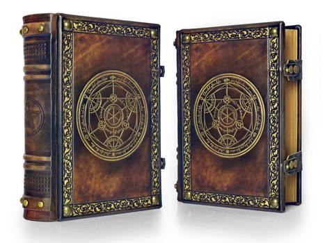 Alchemy leather journal...