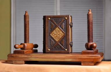 Antiqued journal by alexlibris999