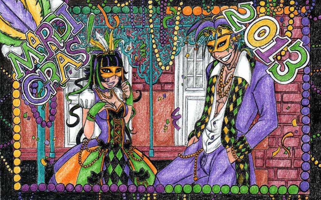 Mardi Gras! by Ankoku-Sensei