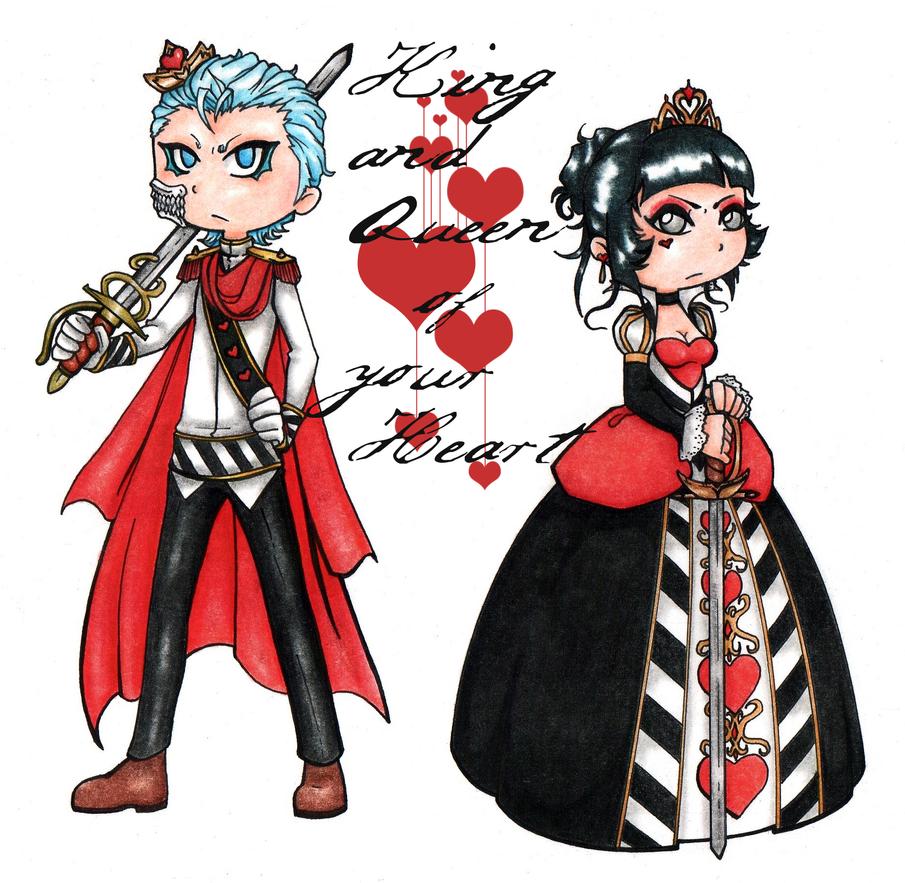 King and Queen by Ankoku-Sensei