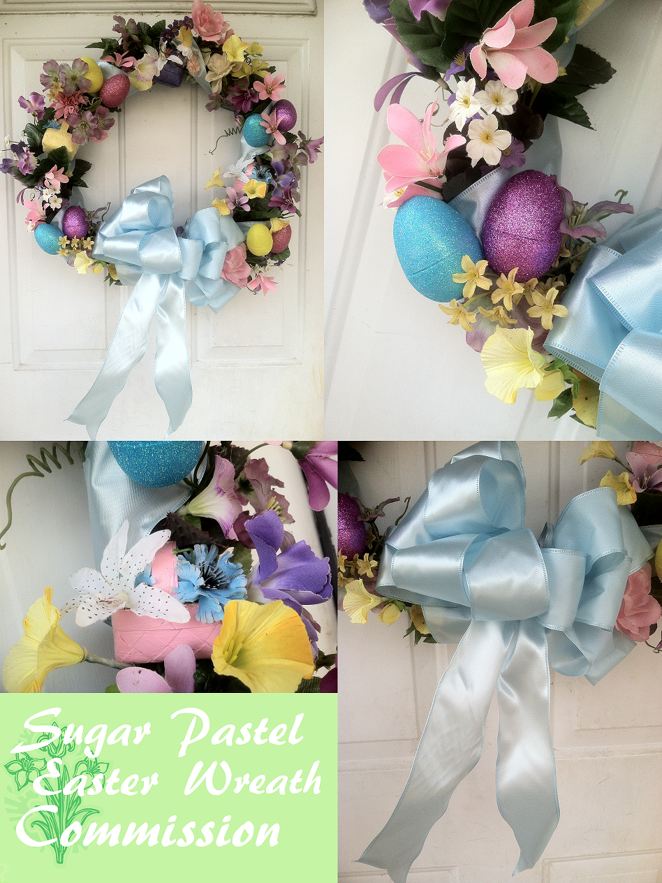 Ppc Sugar Pastel Easter Wreath By Ankoku Sensei On Deviantart