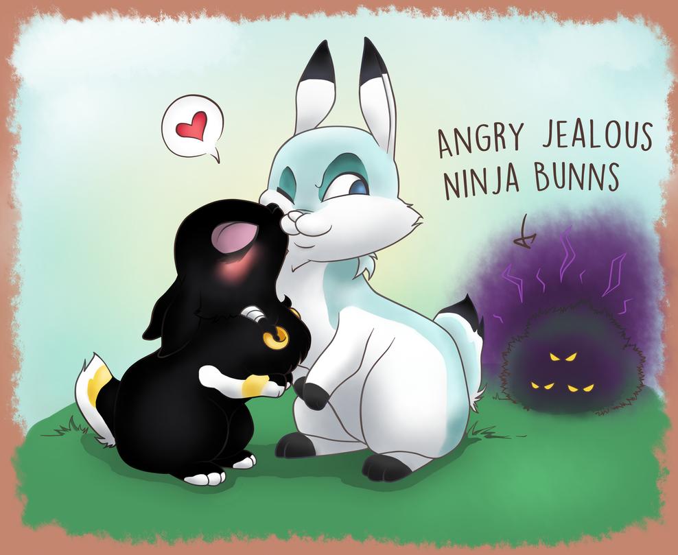 Ninja Bunns by Ankoku-Sensei