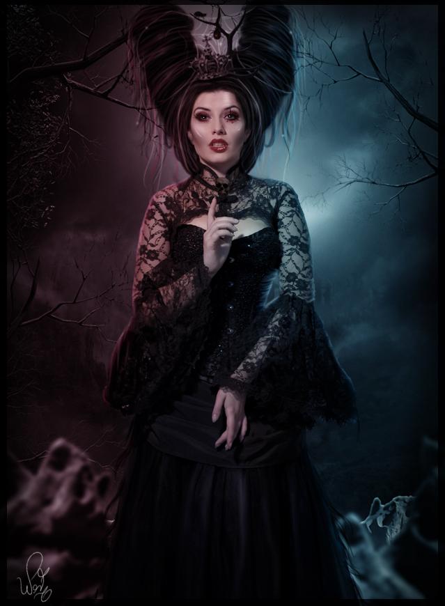 Queen of Darkness by LucasValencio