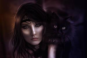Black Cat by LucasValencio