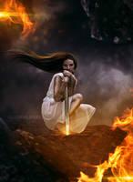 Sacred warrior by LucasValencio