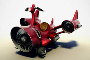 Jet Scooter by innubus