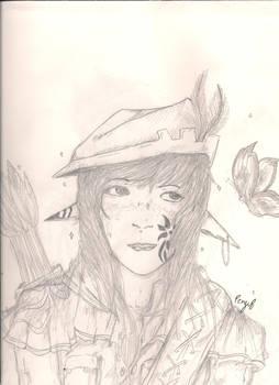 Elf Archer Lady