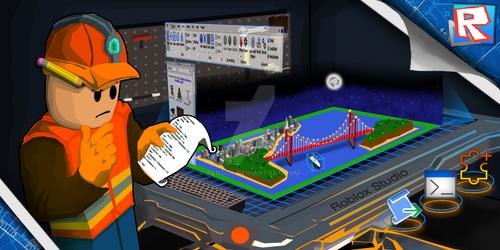 My ROBLOX Studio Splash Art Entry