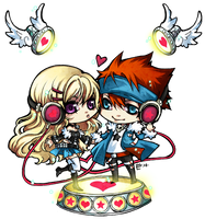 ::chibi for loudcompany:: by rann-poisoncage