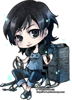 ::chibi for kashiita:: by rann-poisoncage