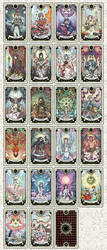 Tarot deck progress by rann-poisoncage