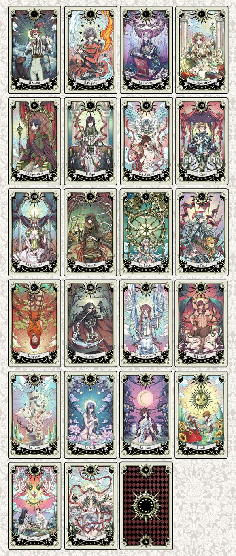 Tarot deck progress by rann-poisoncage