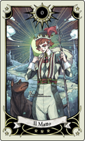 Tarot card 0- the Fool