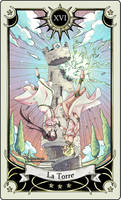 Tarot card 16- the Tower