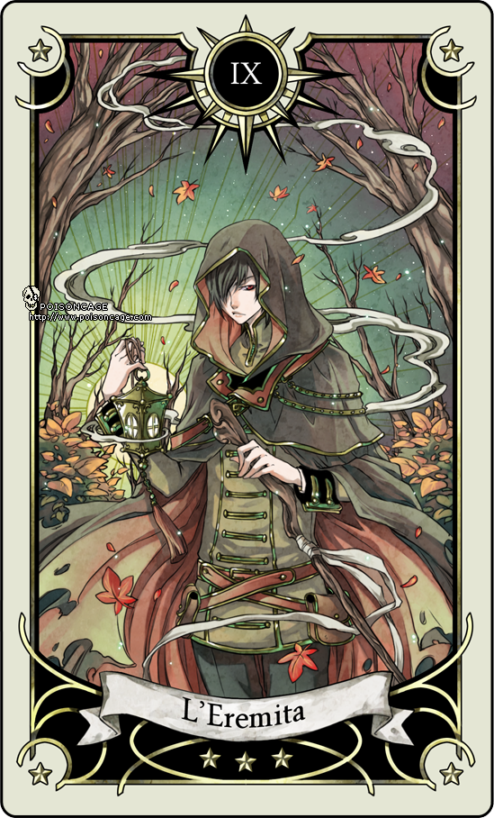The Hermit Tarot Card Meaning In Readings Isolation: Tarot Card 9- The Hermit By Rann-poisoncage On DeviantArt