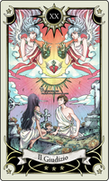 Tarot card 20- the Judgment