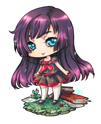 chibi for Yinri by rann-poisoncage