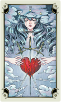 ::Tarot-Minor Arcana-3 of swords::