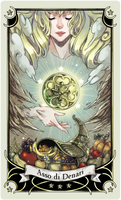 ::Tarot-Minor Arcana-Ace of Pentacles::