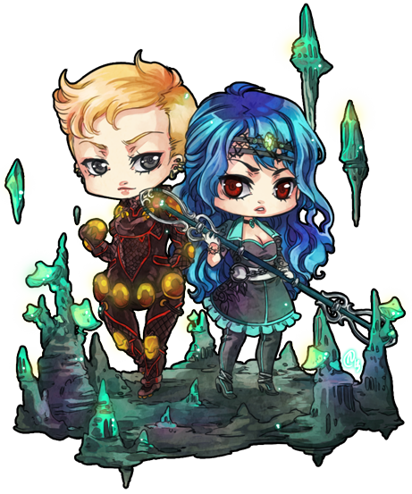 ::chibi comm 4 endejester:: by rann-poisoncage