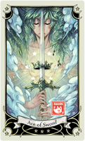 ::Tarot-Minor Arcana-Ace of Sword::