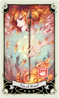 ::Tarot-Minor Arcana-Ace of Wand::