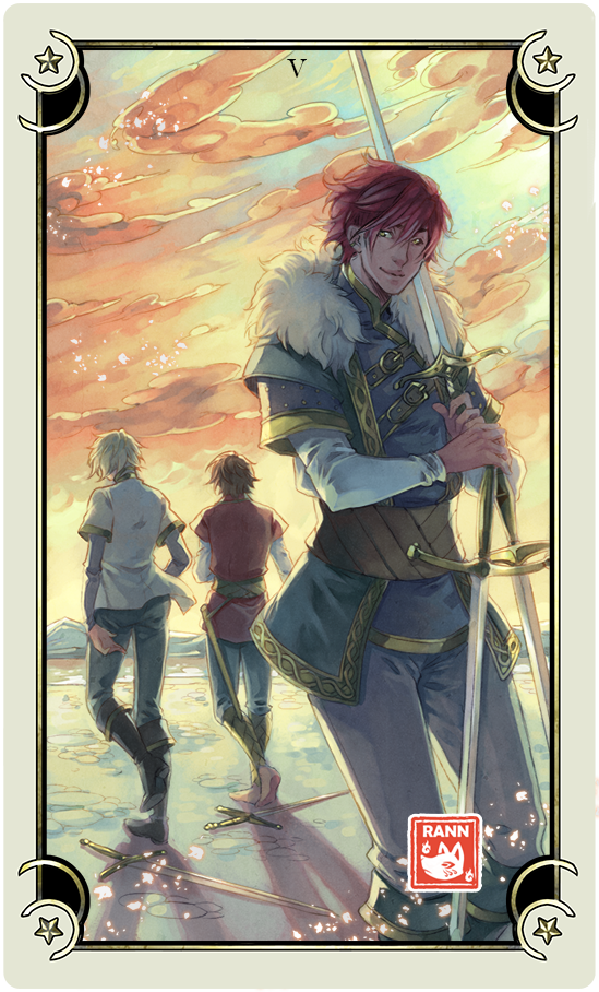 ::Tarot-Minor Arcana-5 of Swords::