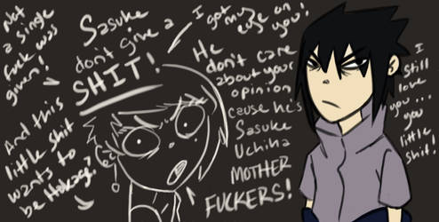 Sasuke feels