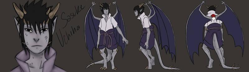 Sasuke Gargoyles model sheet