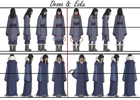Desna and Eska differences