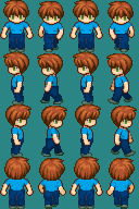 JeffKyler14 RPG MAKER XP Sprites by JeffKyler14