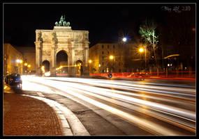 Siegestor - Munich by da-phil