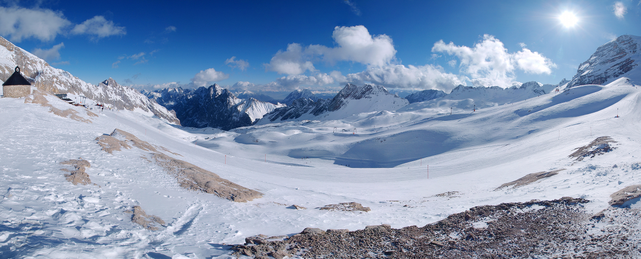 View from Zugspitze by da-phil