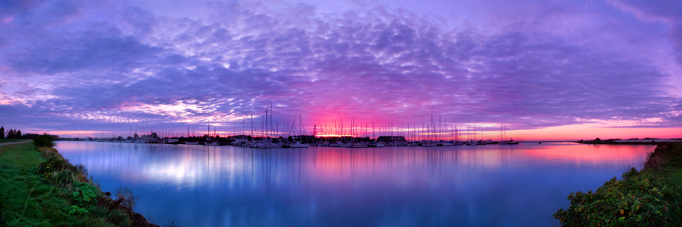 First Danish Sunrise by da-phil