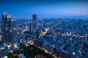 Tokyo Skyline by da-phil