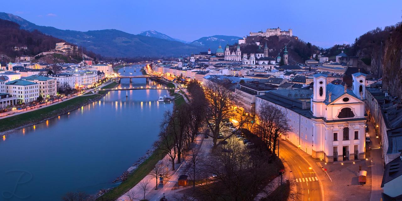 Salzburg Old City by da-phil
