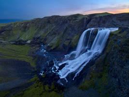 Canyon Nightfall by da-phil