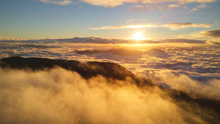 Over the Clouds by da-phil