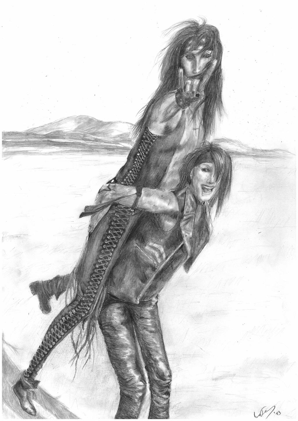 Ashley Purdy and Christian Coma by Monsterflosse on DeviantArt