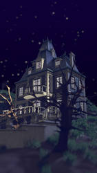 Haunted Manor by Schade88