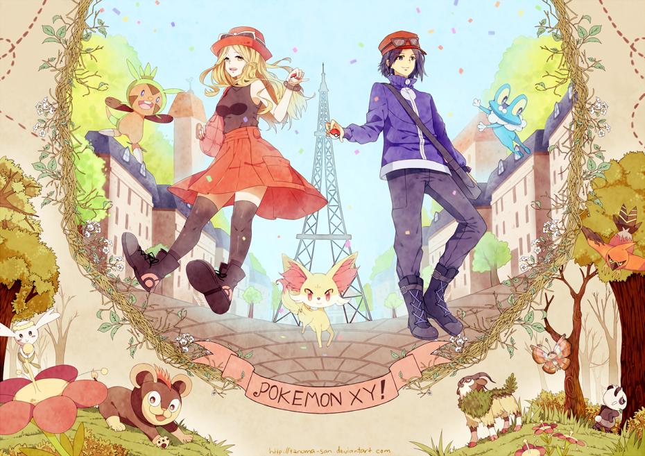 POKEMON XY by tanuma-san