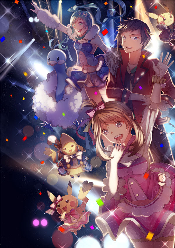 POKEMON ORAS! idol versions by tanuma-san