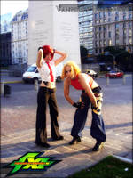 King of Fighters - Cosplay - by JigokuxShoujo