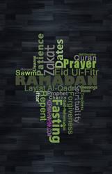 Ramazan, Ramzan, Ramadhan, Ramdan, Ramadaan. by rasters