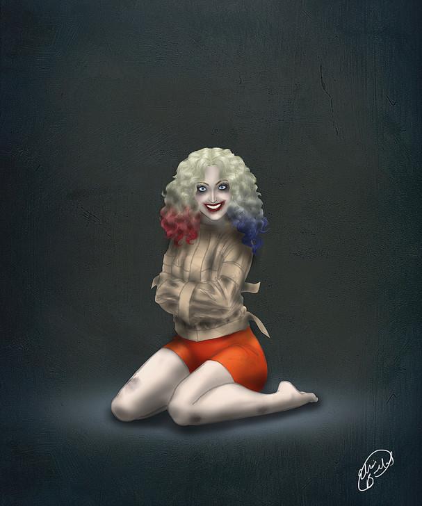Crazy Harley Quinn by EliseMB123