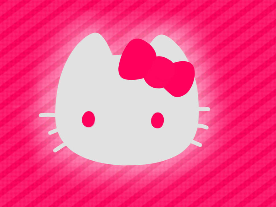 Hello Kitty wallpaper pink by VectorFrosting