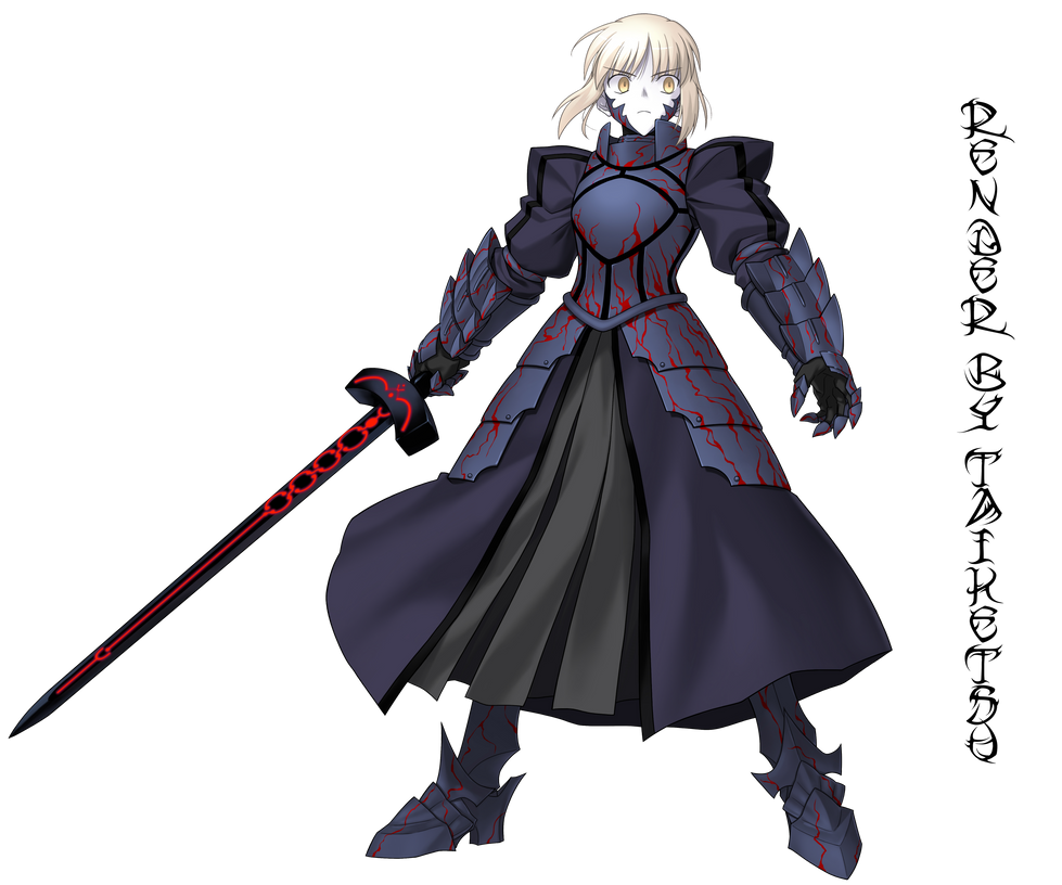 Saber Alter by Zaydo on DeviantArt